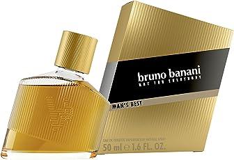 bruno banani Man's Best – Eau de Toilette Herren Parfüm Natural Spray – Eleganter, maskuliner Premiumduft für Männer – 1er Pack (1 x 50ml)