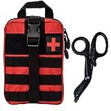 Krisvie EHBO Molle Pouch EMT Pouch Afneembare Tactische Medische Tas voor Outdoor Activiteiten met Schaar