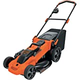 Black & Decker CLMA4820L2-QW Accugrasmaaier (met autosense 36 V, 48 cm maaibreedte, voor middelgrote en grote tuinen, incl. 2