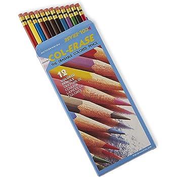 Sanford Col-Erase Erasable Colored Pencils 12/pkg-Assorted