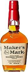 Maker's Mark Kentucky Straight Bourbon Whisky (1 x 0.7 l)