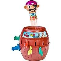 """TOMY T7028A1 Kinderspiel """"Pop Up Pirate"""", Hochwertiges Aktionsspiel für die Familie, Piratenspiel zur Verfeinerung der…"""