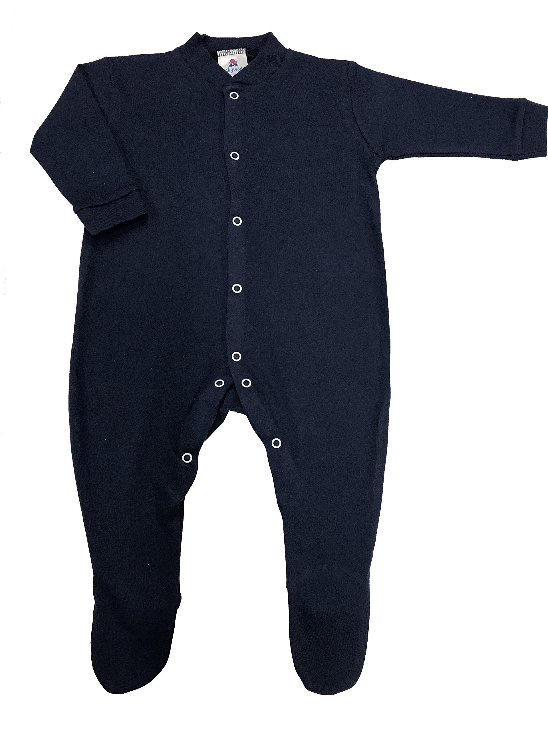 BabywearUK Pijama – Fabricado en Reino Unido rosa rosa Talla:recién nacido 1