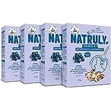 NATRULY Proteína Vegana BIO Fresa y Frambuesa, 76% Proteína ...