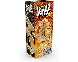 لعبة مكعبات جينغا الكلاسيكية من هاسبرو - 6 سنوات فما فوق