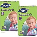 Drypers Classicpantz Large Sized Pant Style Diaper (96 Counts)
