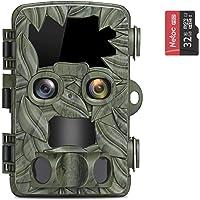 COOLIFE Caméra de Chasse Deux Caméras 4K 20MP Camera de Chasse Nocturne 25m Vitesse de Déclenchement 0.1s Technologie de…