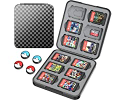 HEYSTOP Game Card Case for Nintendo Switch/Switch OLED,Game Storage for Switch/Switch OLED,Switch Game Case Portable Storage