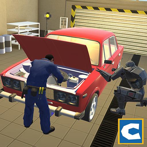 Robot Car Mechanic Simulator