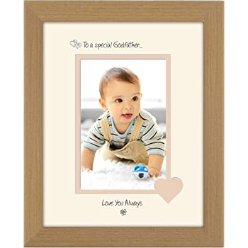 Godfather Wooden Photo Frame 4x6 - Personalise This Frame - Free ...
