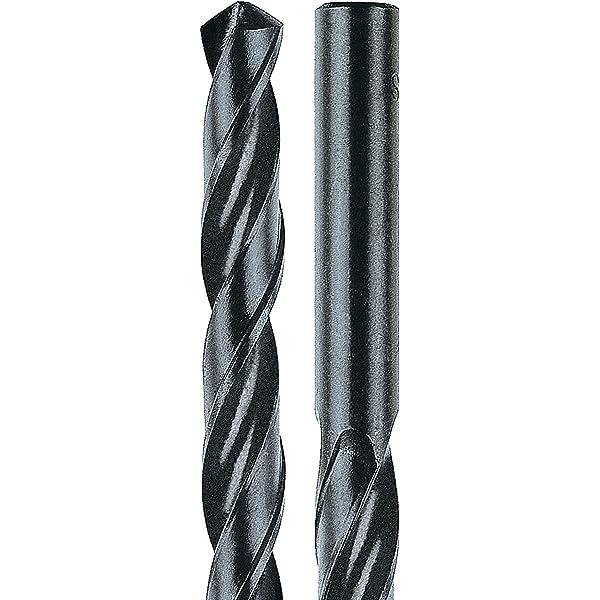 UK Drills 7.4mm HSS Jobber Drill Bits High Speed Steel Wood 1mm to 9.5mm x 10pcs