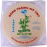 Round Vietnamese Rice paper 22cm 340g Summer Roll Goi Cuon Banh Trang Fresh Spring Roll