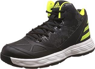 Adidas Men's Gcf - 1 Black, Utiblk and Syello Basketball Shoes