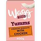 Wagg Yumms Dog Biscuits with Chicken, 400 g, Pack of 5