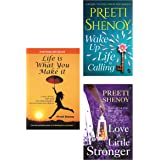 Life is What You Make It + Love a Little Stronger + Wake Up, Life is Calling (Set of 3 books)