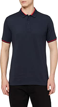 Amazon Brand - HIKARO Herren Polo Shirt Kurzärmelig Polo T-Shirts Atmungsaktiv Business Tennis Golf Tops für Männer