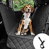 Bonve Pet Cubierta Asiento Coche Perro, Funda Coche Perro Mascota Impermeable, Alfombra de Asiento Coche Perro de Estilo Hama