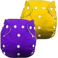 Babymoon Washable Baby Diaper Premium Cloth Diaper Reusable, Adjustable Size, Waterproof, Pocket Cloth Diaper Nappie…
