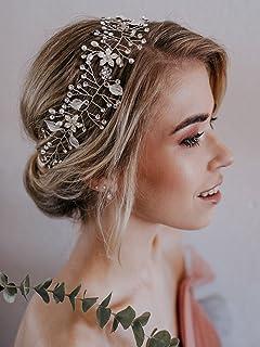 Hochzeit Brautschmuck Diadem Perle Haarband Kopfschmuck Stirnband