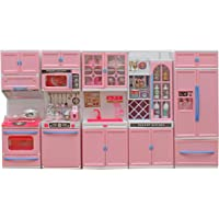 JVM Dream House Kids Battery Operated Kitchen Set with Light and Sound (5-Fold)