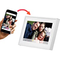 Denver WiFi Digital Photo Frame 7 Inch, iPhone & Android App, 8GB Storage And SD Card Back Up, PFF-711