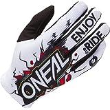 Oneal Matrix Youth Glove Villain Neon Geel MX Motocross Protectoren
