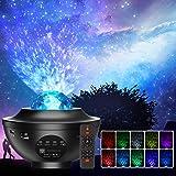 Projecteur Ciel Etoile, Planetarium Projecteur LED Veilleuse Enfant Rotatif 21 Modes, Océan Starry Lampe Projecteur Luminosit