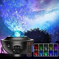 Projecteur Ciel Etoile, Planetarium Projecteur LED Veilleuse Enfant Rotatif 21 Modes, Océan Starry Lampe Projecteur…