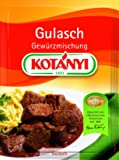Kotanyi Gulasch Gewürzmischung, 5er Pack (5 x 31 g)