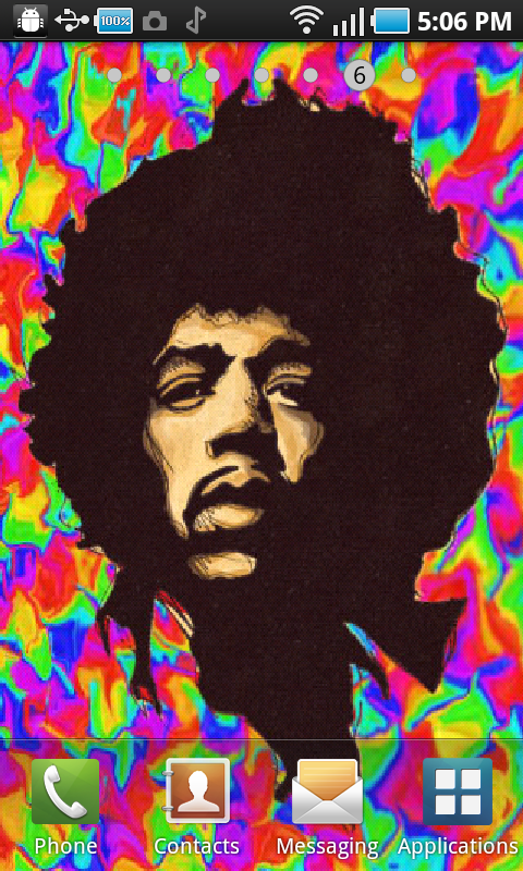 Jimi Hendrix Live Wallpaper Amazoncouk Appstore For Android