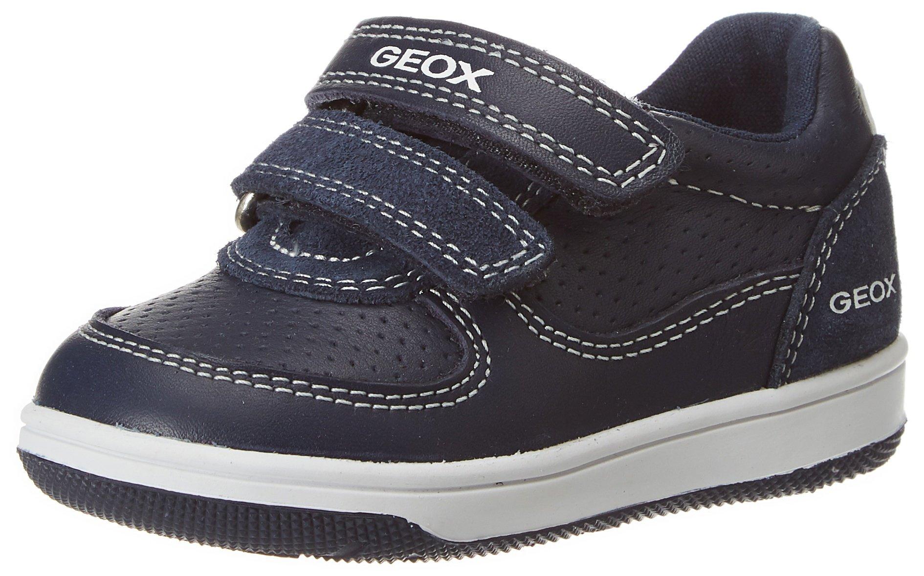 Geox B New Flick Boy B, Zapatillas para Bebés, Navy, 20 EU