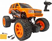 Popsugar 1:20 Off Roader Rock Climbing Rechargeable Truck with Remote Control Toy for Kids | Drive on Sandy, Rocky, Grasslan