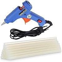 FADMAN HOT MELT Glue Gun | Operating Power 20 WATT | ON Off Switch & Indicator | Blue Mini 10 Glue Sticks 7 MM