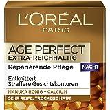 L'Oréal Paris Age Perfect Nattkräm för Torr och Mogen Hud, 50 ml