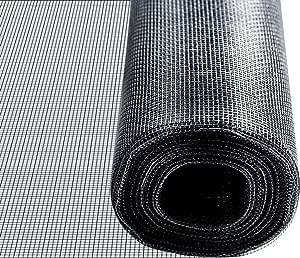 Fliegennetz Meterware in verschiedenen Farben und Breiten MZ 39 1,5m, schwarz