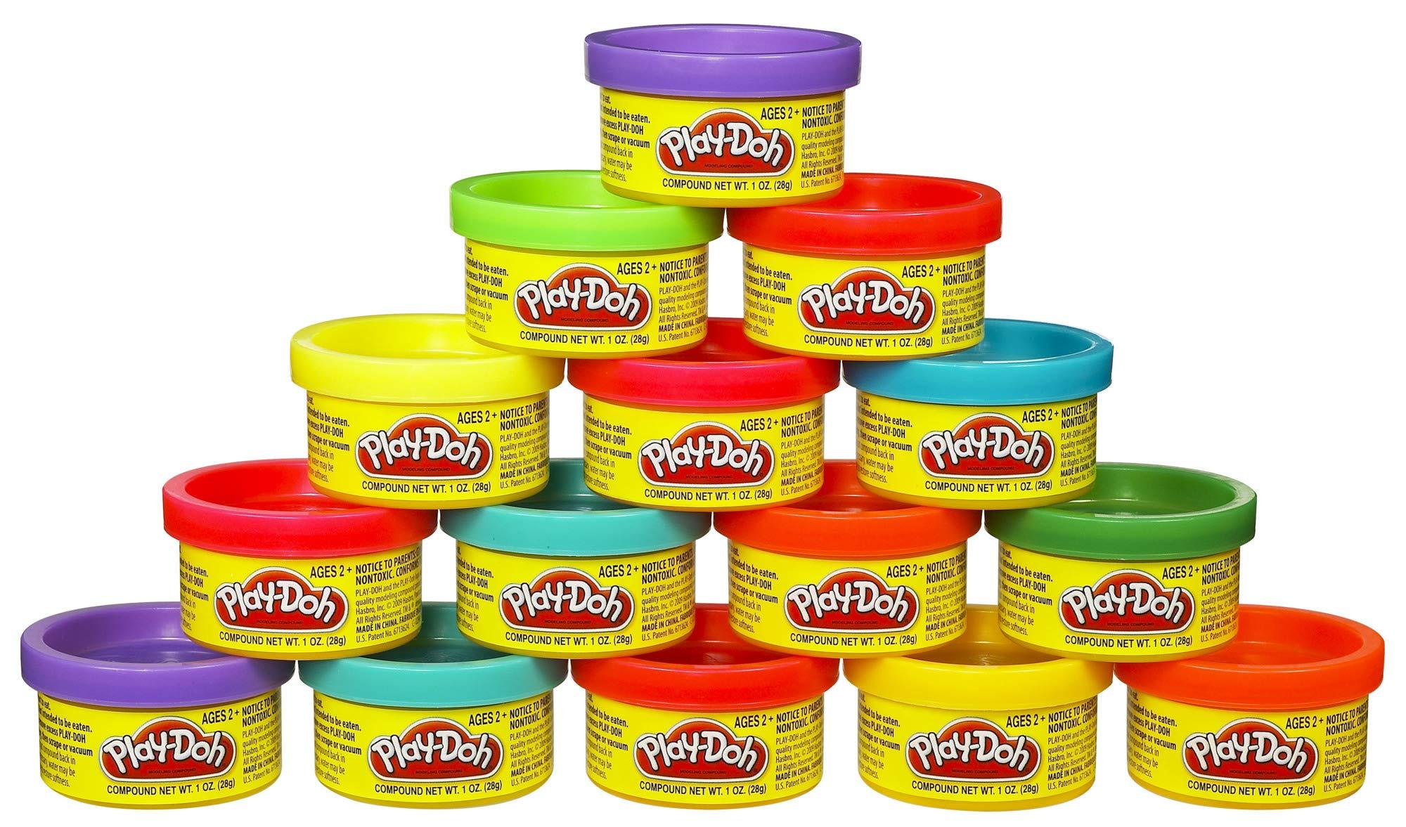 Play-Doh Bustina di Vaso, Multicolore, 15 Vasetti, 18367EU4 2 spesavip