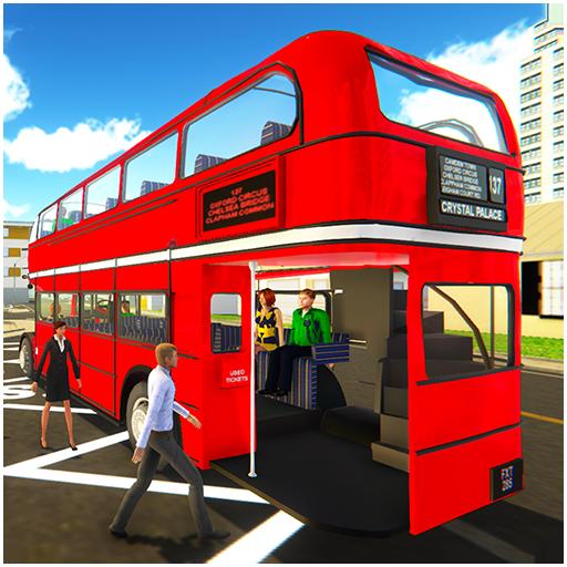 Uphill Off Road Driving Bus Spiel Simulator: echte Stadtbus Bus Driver Jumbo Fahrzeuge wunderbare Innen-Routen gelenkten Doppel-Schulbussen Wüste Doppelschnee bergigen Umgebung Doppel-mobile