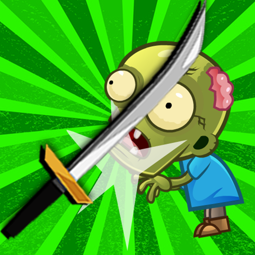 Flippy Knife - Ninja Kid vs Zombies Edition - Just Flip The Knife, Trigger The Dead and Chop The Mini Zombies. Plants Vs Zombies Games Free