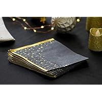 Talking Tables Etoile Serviette Parfait pour Baby Shower, Noël, Réveillon, Nouvel an, Hanukkah, Eid, Anniversaire et…