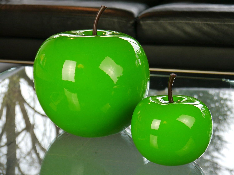 Decorazione a forma di articolo mela in fibra di vetro in finitura ...