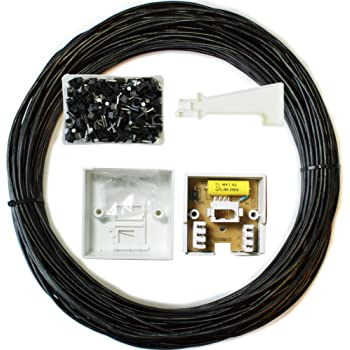 15m bt extension outdoorexternal cable amazon electronics 15m bt extension outdoorexternal cablelead kit telephone line phone broadband asfbconference2016 Image collections