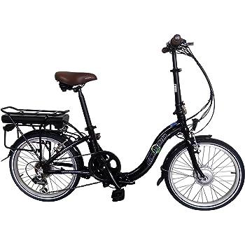 8 Fun para bicicleta eléctrica plegable de aleación de bicicleta 20