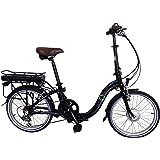8Fun Ebike Vélo électrique pliable en alliage 50,8 cm 250 W11.6A Lithium-E20F01BL