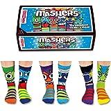 United Oddsocks - Box 6 Oddsocks For Boys - Mashers