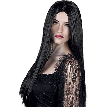 Boland Parrucca Lunga Strega Bewitched per Adulti, Nero, Taglia Unica 86085
