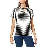 Amazon-Marke: find. Damen Bluse mit Schluppe am Kragen