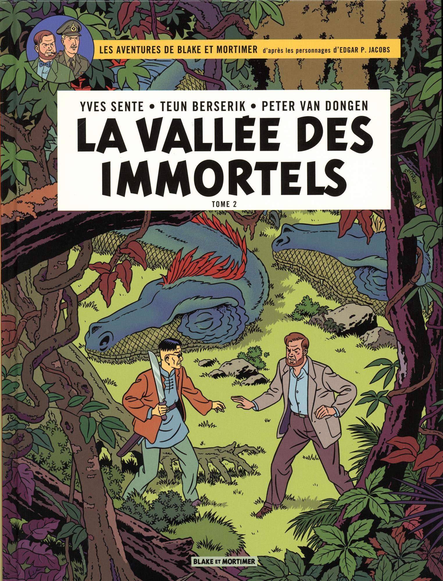 Blake & Mortimer - tome 26 - La Vallée des Immortels - Tome 2 - Le Millième Bras du Mékong