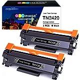 GPC Image TN2420 TN-2420 Cartuchos de tóner Compatible para TN2410 TN-2410 para Brother DCP L2510D L2530DW L2550DN, HL L2310D