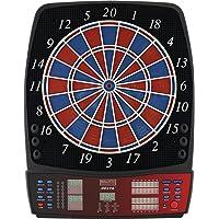 BULL'S Delta Iv Russ Bray Sound Elektronik Dartboard, Mehrfarbig, 59 x 46 cm