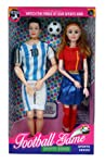 Tickles Football Game Moving Joints Doll Set Girl Boy Playset